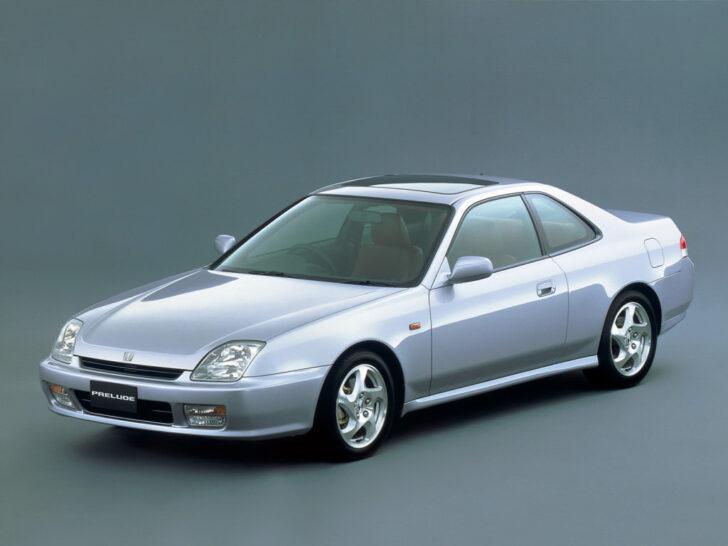 Honda Prelude. Фото Honda