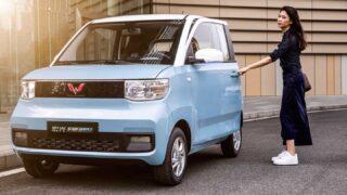 Wuling Hongguang Mini EV. Фото GM-SAIC