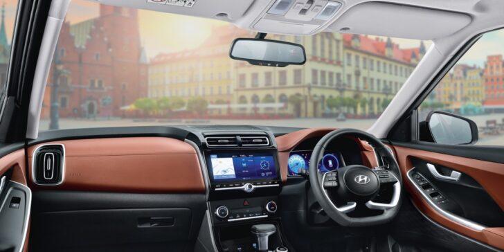 Салон Hyundai Alcazar. Фото Hyundai