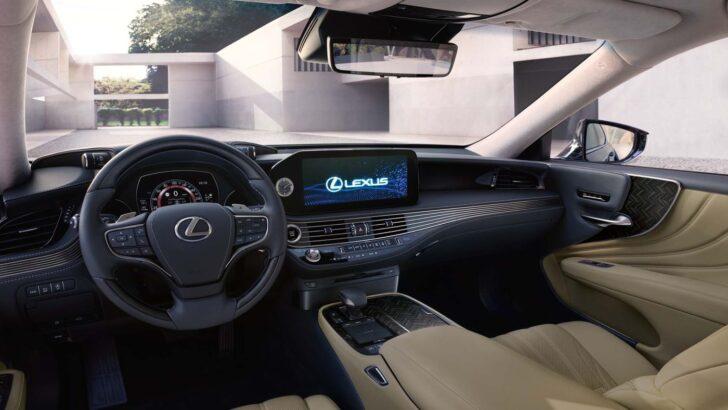 Интерьер Lexus LS. Фото Lexus