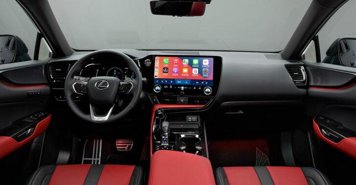 Интерьер Lexus NX. Фото Lexus