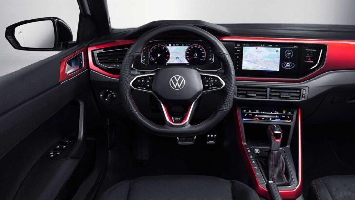 Интерьер Volkswagen Polo GTI. Фото Volkswagen