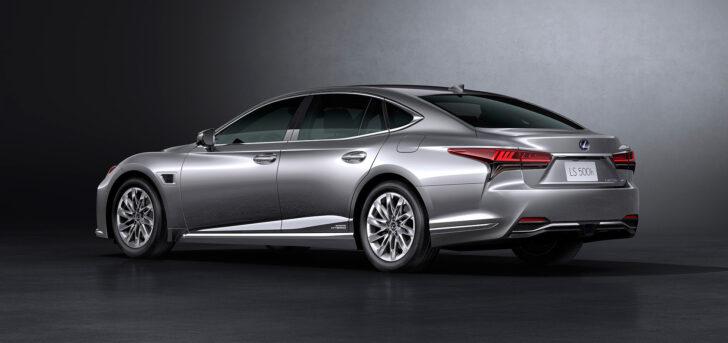 Lexus LS. Фото Lexus