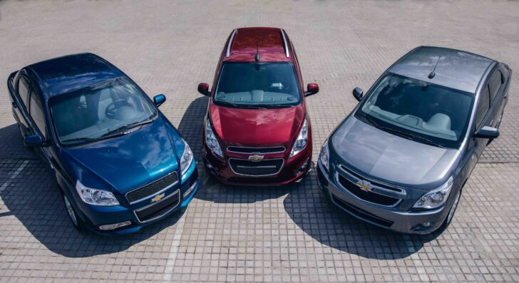 Массовые модели Chevrolet. Фото Chevrolet