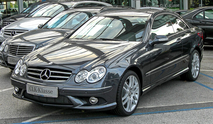 Mercedes-Benz CLK. Фото M 93 (CC BY-SA 3.0)