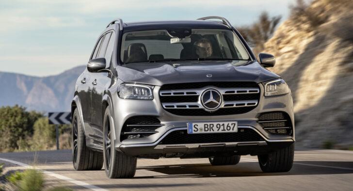 Mercedes-Benz GLS. Фото Mercedes-Benz