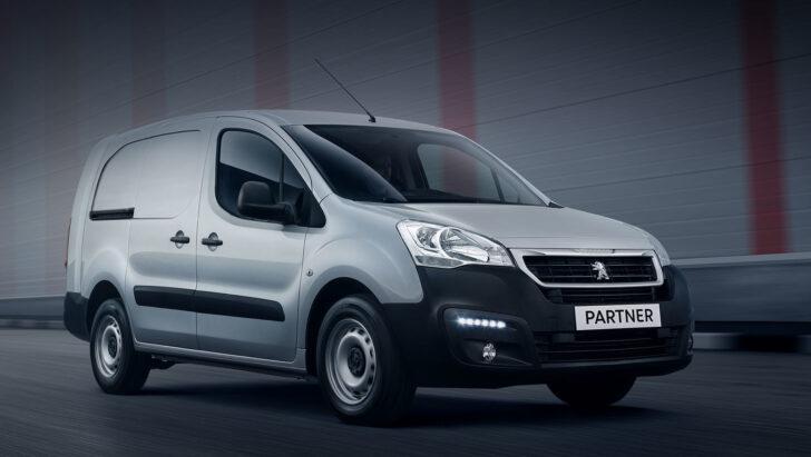 Peugeot Partner. Фото Peugeot