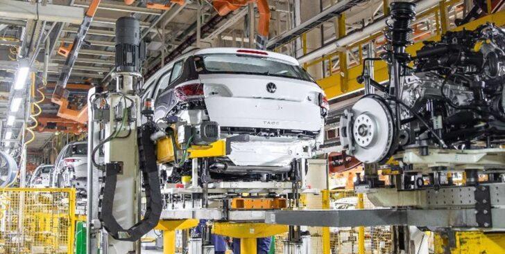 Производство Volkswagen Taos. Фото Volkswagen