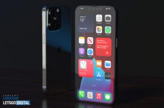 iPhone 13 Pro. Рендер Letsgodigital