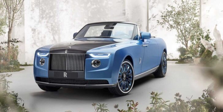 Rolls-Royce Boat Tail. Фото Rolls-Royce