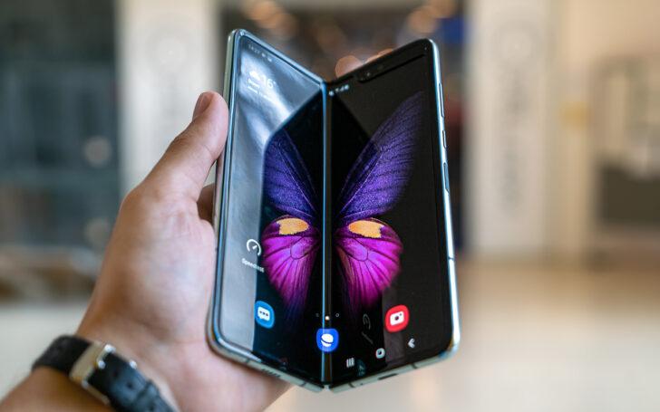Samsung Galaxy Fold. Фото Mika Baumeister / Unsplash