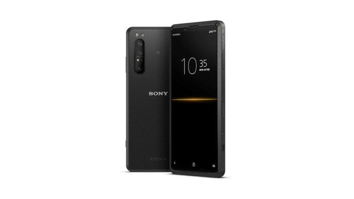 Sony Xperia PRO. Иллюстрация Sony