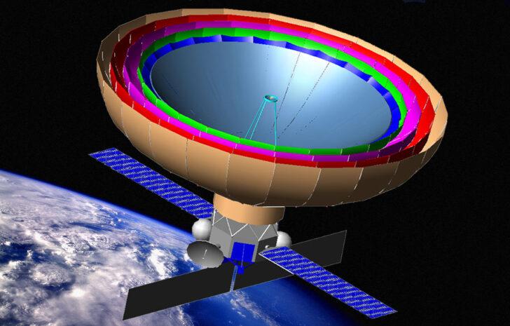 "Астрофизическая обсерватория ""Спектр-М"". Иллюстрация www.laspace.ru"