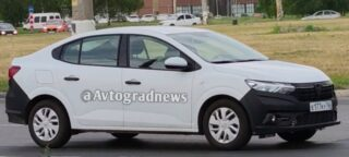 Тестовый Renault Logan-3. Фото Avtograd News