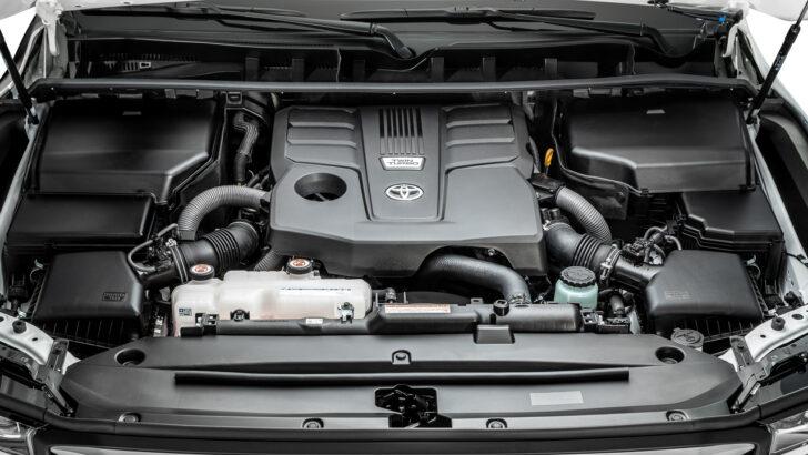 Двигатель Toyota Land Cruiser 300. Фото Toyota