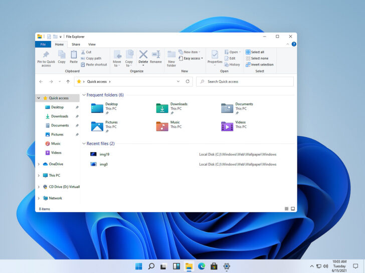 Скриншот Windows 11