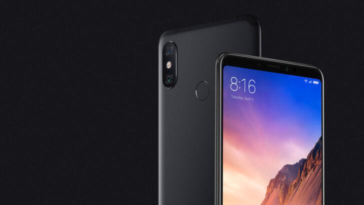 Xiaomi Mi Max 3. Фото Xiaomi