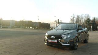 Lada Vesta в кузове кабриолет. Рендер Александр Шторм / inforeactor.ru
