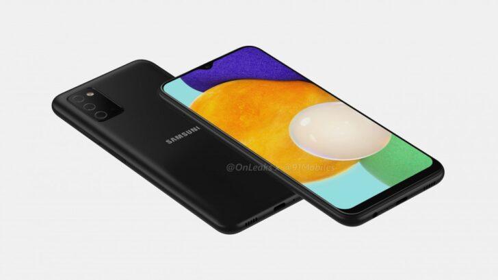 Samsung Galaxy A03s. Рендер gsmarena