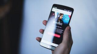 Apple Music на Android-смартфоне