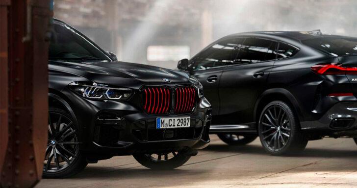 BMW X5 и BMW X6 Black Vermilion Edition. Фото BMW