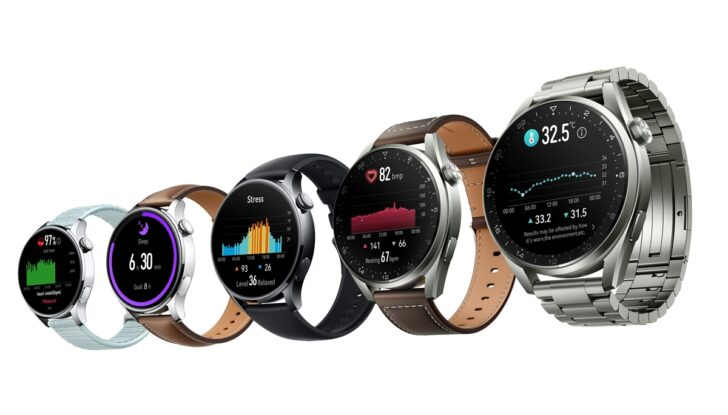 Умные часы серии Huawei Watch 3. Фото Huawei