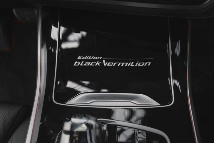 Интерьер BMW X5 Black Vermilion Edition. Фото BMW