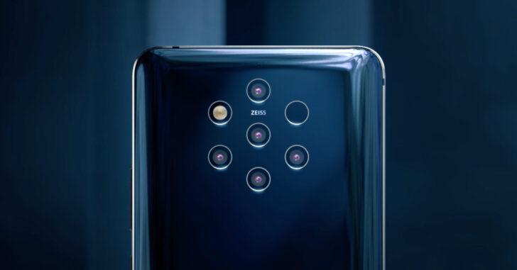 Nokia 9 Pureview. Изображение Nokia