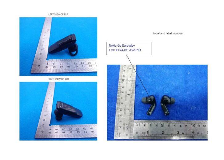 Nokia Clarity Solo Buds и Nokia Go Earbuds. Фото FCC