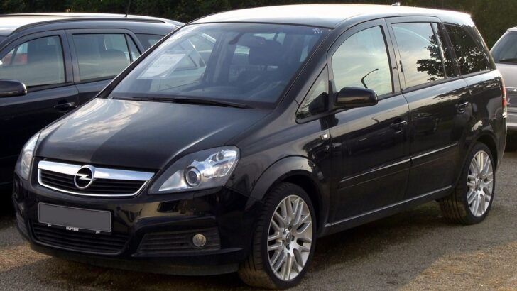Opel Zafira. Фото Luftfahrrad
