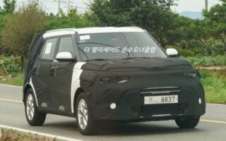 Прототип обновленного Kia Soul. Фото TheKoreanCarBlog