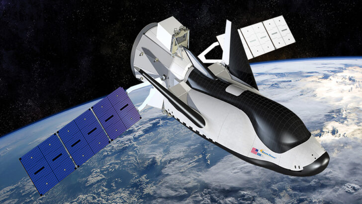 Космический корабль Dream Chaser. Иллюстрация Sierra Nevada