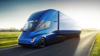 Tesla Semi. Изображение Tesla
