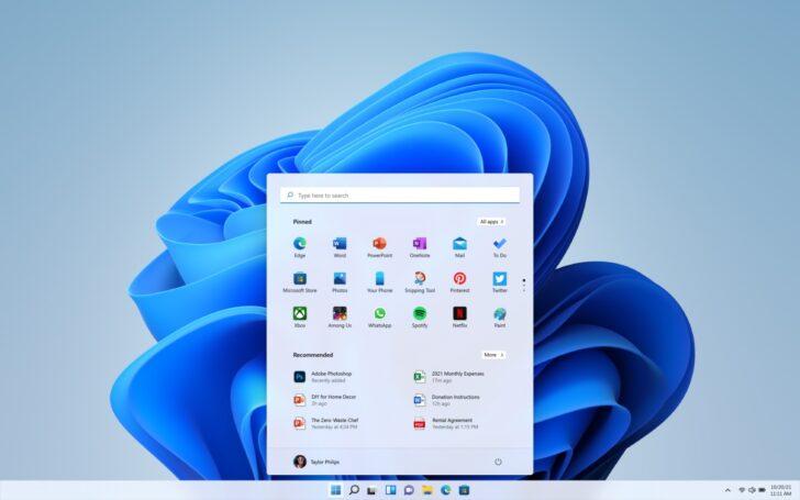 Обновленная ОС Windows 11. Изображение Microsoft
