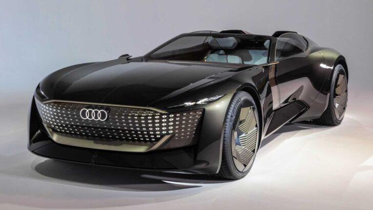 Audi Skysphere. Фото Audi