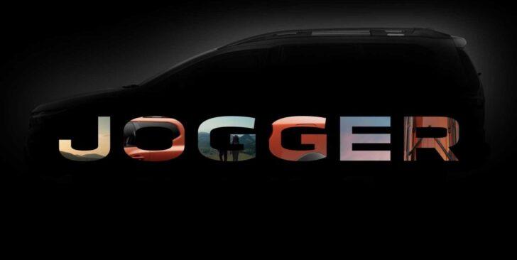 Dacia Jogger Teaser. Фото Dacia