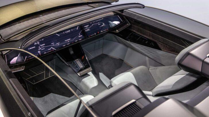 Интерьер Audi Skysphere. Фото Audi