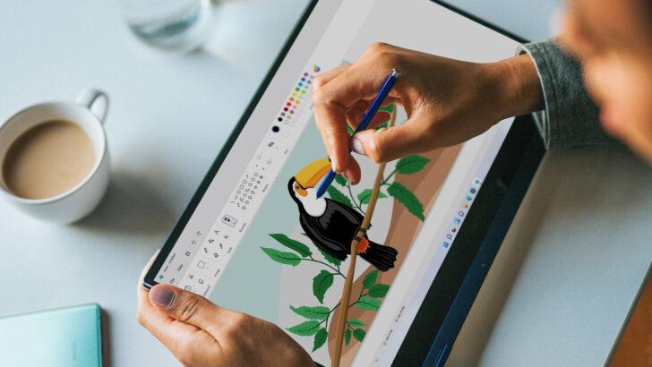 Приложение Paint. Фото Microsoft