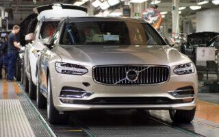 Производство автомобилей Volvo. Фото Volvo