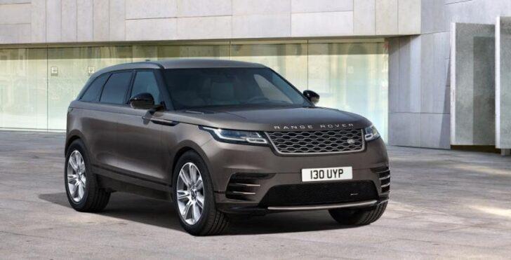 Range Rover Velar Auric Edition. Фото Land Rover