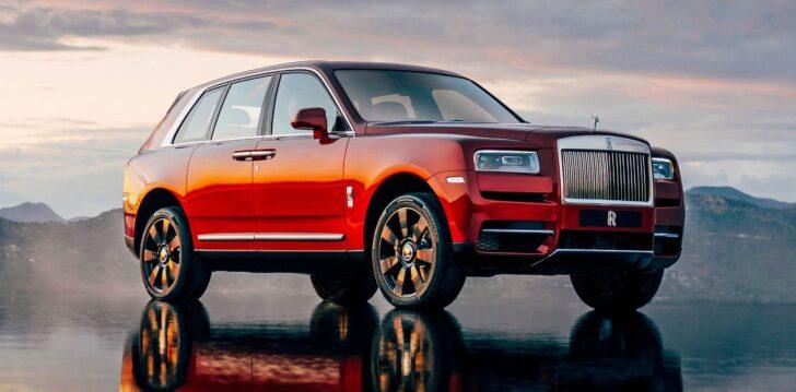 Rolls-Royce-Cullinan. Фото Rolls-Royce