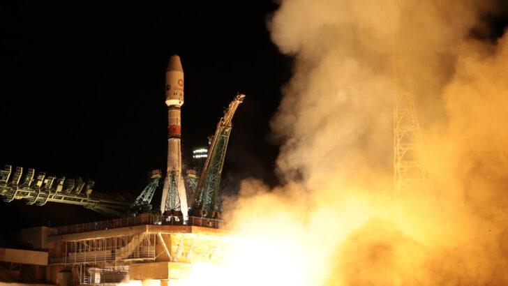 пуск ракеты-носителя «Союз-2.1б». Фото Роскосмоса