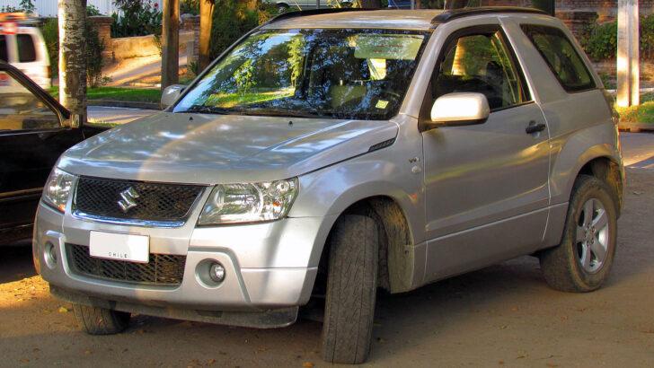 Suzuki Grand Vitara 3d. Фото order_242