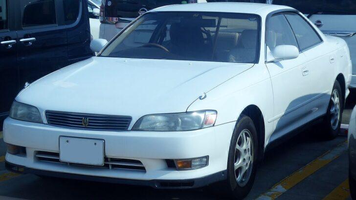 Toyota Mark II. Фото Tokumeigakarinoaoshima