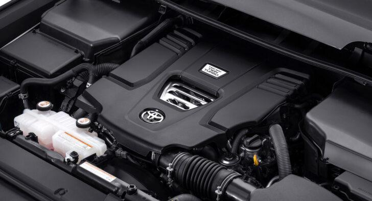 Турбодизельный двигатель Land Cruiser 300. Фото Toyota