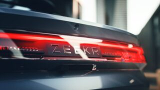 Zeekr 001. Фото Zeekr