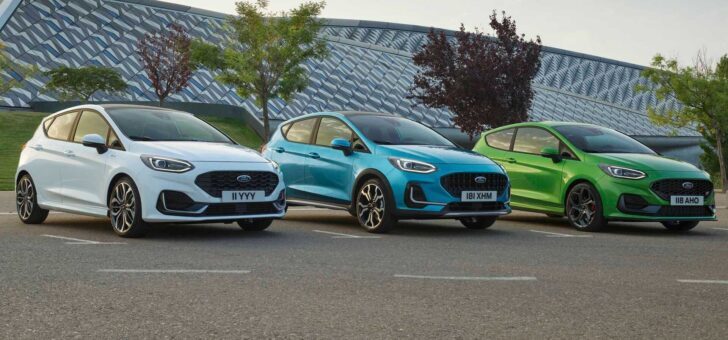 Семейство Ford Fiesta. Фото Ford