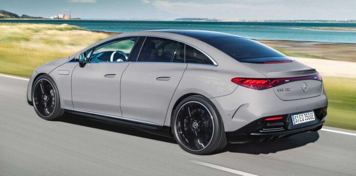 Mercedes-Benz EQE. Фото Mercedes-Benz