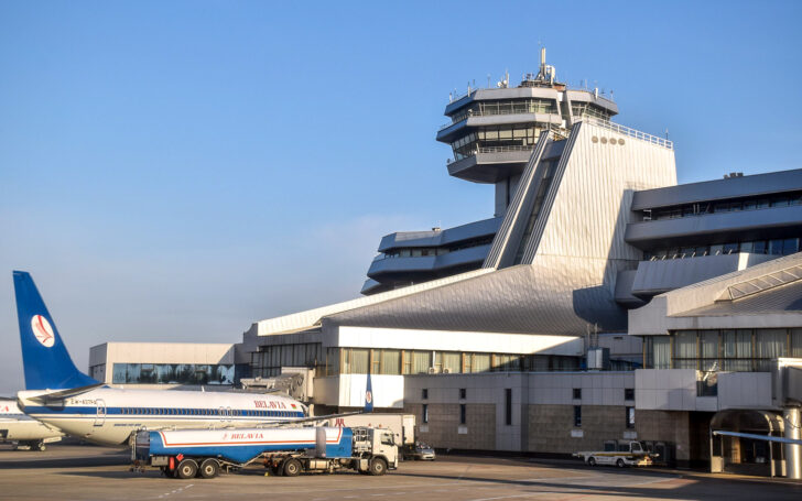 Аэропорт «Минск». Фото Vasyatka1 (CC BY-SA 4.0)