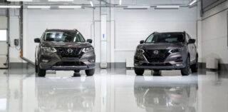 Nissan Qashqai и X-Trail N-Design. Фото Nissan